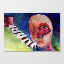 Senses Canvas Print