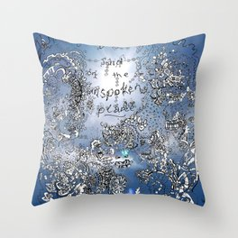 Everything that is Said on the Unspoken Plane Throw Pillow
