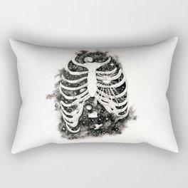 Space inbetween the ribs Rectangular Pillow
