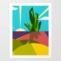 oz Art Prints featuring Oz. by Spencer Kurtti Designs