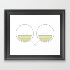 Hello, Night Owl Framed Art Print