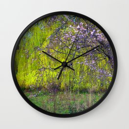 influence: monet Wall Clock
