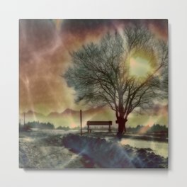 Winter Impression C Metal Print
