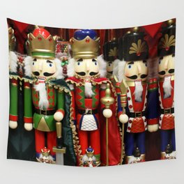 Nutcracker Soldiers Wall Tapestry