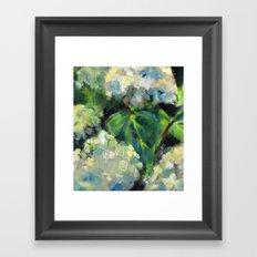 Hydrangeas in the Catskills Framed Art Print