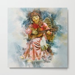 Angel Music Metal Print