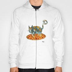 Pepperoni, Black Olives and Cat Hoody