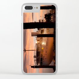 Evening Departure Clear iPhone Case