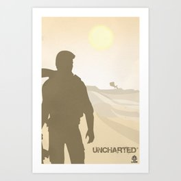 Vector Uncharted Art Print