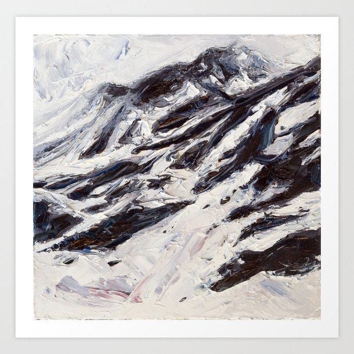 Harding Icefield No. 2 Art Print