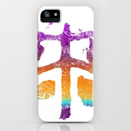 Celtic Cross Fly in Candy Colors iPhone Case
