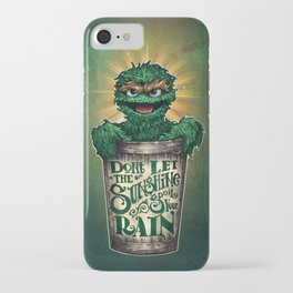 Don't Let The Sunshine Ruin Your Rain iPhone Case
