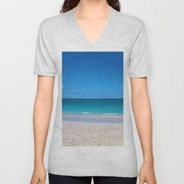 Turks & Caicos Beach Unisex V-Neck