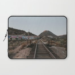 Derailed Train Laptop Sleeve