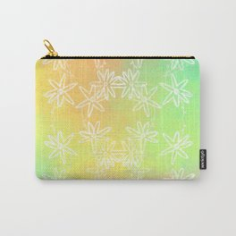 Spring Daisy Vines Carry-All Pouch