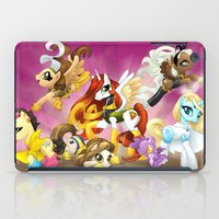 mlp iPad Cases featuring MLP X-Women by Kimball Gray