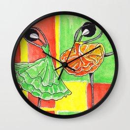Twin Sister's Wall Clock