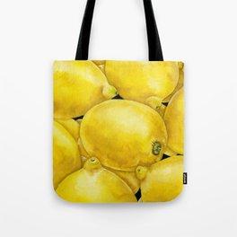 Fresh Lemons Tote Bag