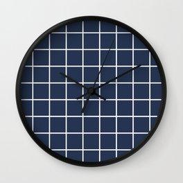 BOLD GRID Wall Clock