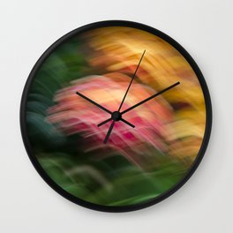 Gentle Ocean of Colors Wall Clock