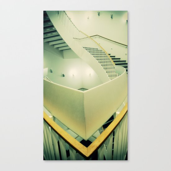 Staircase peak Canvas Print
