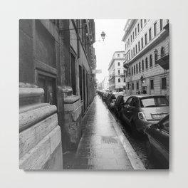 Roman side street Metal Print