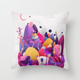 Home for Imaginary Friends Throw Pillow