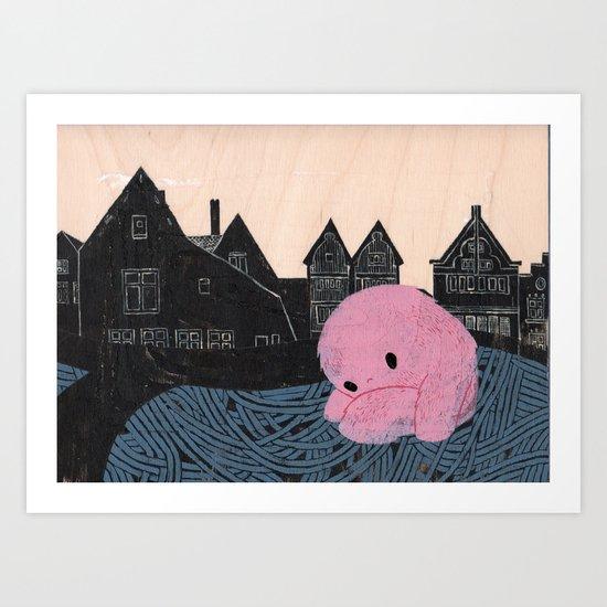 In Bruges II Art Print