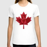 canada T-shirts featuring O Canada by Fimbis