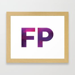 FALSE PERSPECTIV Framed Art Print