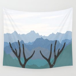 Horns Wall Tapestry