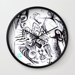 THE WORLD OF FAIRIES Wall Clock