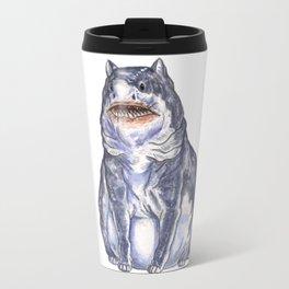 Great White Shark Cat :: Series 1 Travel Mug