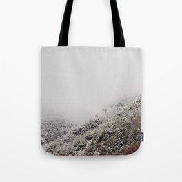 White breath Tote Bag