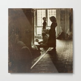 Women praying in Istanbul Metal Print