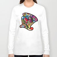 mad hatter Long Sleeve T-shirts featuring Mad hatter by Ilse S