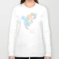 writing Long Sleeve T-shirts featuring North America ~ Writing Sistems by Stop::mashina ~Runes