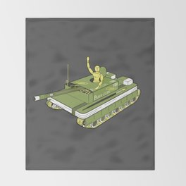 The Art of War Throw Blanket