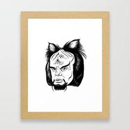 Woorf Framed Art Print