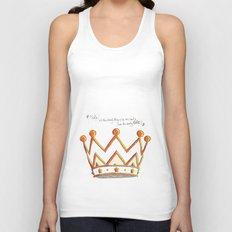 Crowns & Gin Unisex Tank Top