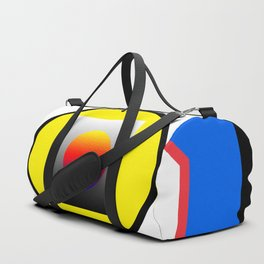 All the ways go to the center Duffle Bag