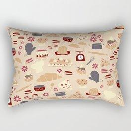French Kitchen Rectangular Pillow