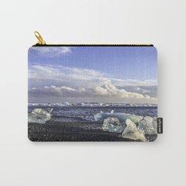 Jokulsarlon Lagoon Beach 05 Carry-All Pouch