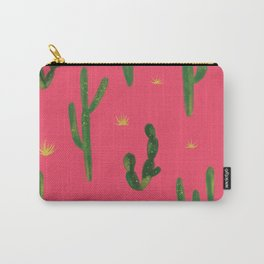 Desert Vibes Pink Carry-All Pouch