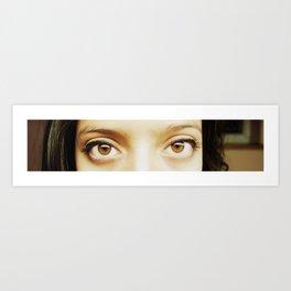 i'll be watching you Art Print