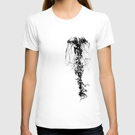 Jellyfish in Black T-shirt
