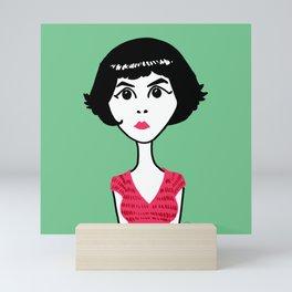 Audrey Tautou Mini Art Print