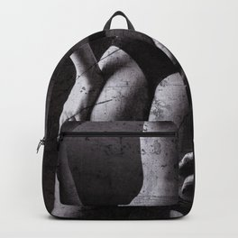 Distressed Lingerie Backpack