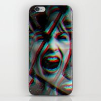 psycho iPhone & iPod Skins featuring PSYCHO by Inception of The Matrix