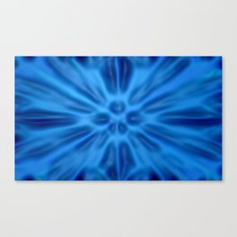 Blue plastification Canvas Print